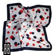 šátek na krk s puntíky