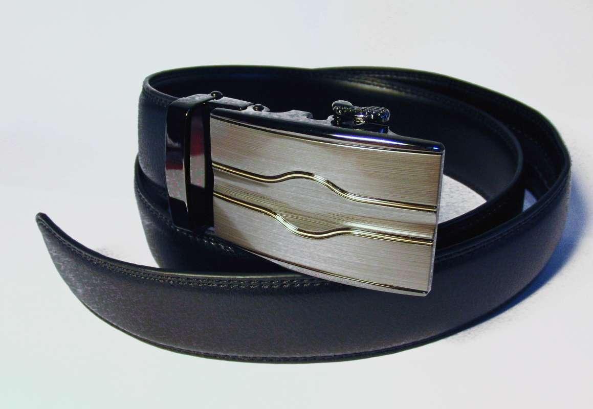 kožený pásek Dover s automatickou sponou Baumruk