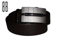 kožený pásek unisex | Ocean H /délky 110 - 130 cm /