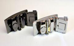 kožený pásek Ocean Black / délky 100 - 130 cm Baumruk