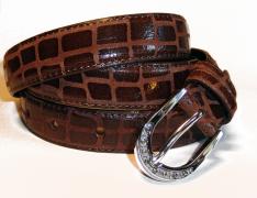 dámský kožený pásek (šíře 2,5cm) BB Moda