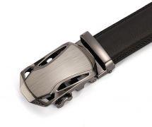 Automatický pásek Loruss - hnědá kůže