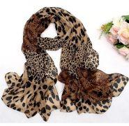 Dámský šál leopard 160x60