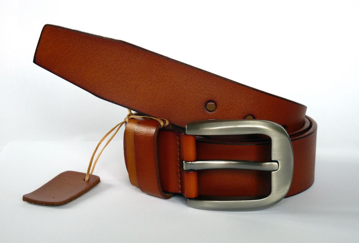 kožený pásek Polo Baumruk