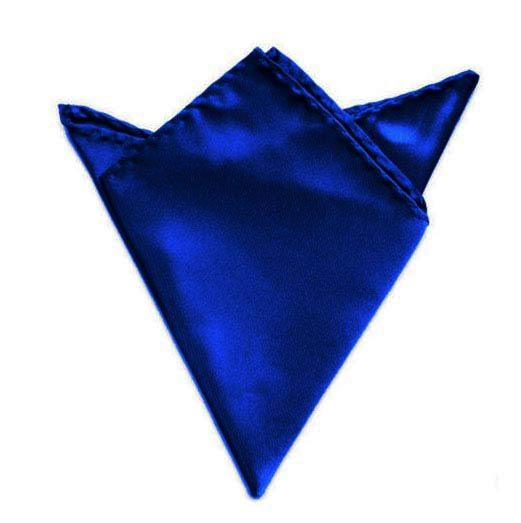 královská modrá kapesníček do saka 21 cm x 21 cm Q.Brund