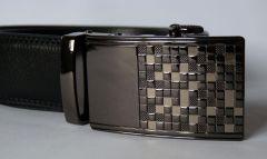 Luxusní kožený pásek Man Design / délky 100 - 130cm / Baumruk
