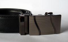 Luxusní kožený automatický pásek | Wave II *100 - 130cm *