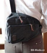 batoh na volný čas v černé barvě Baumruk