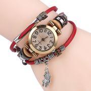 náramek a hodinky červené