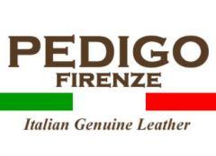 Italská kožená kabelka 1061 světle modrá Pedigo Firenze