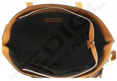 Italská kožená kabelka 1067 červená Pedigo Firenze