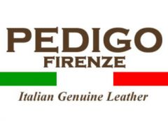 Italská kožená kabelka 1016 Cognac Pedigo Firenze