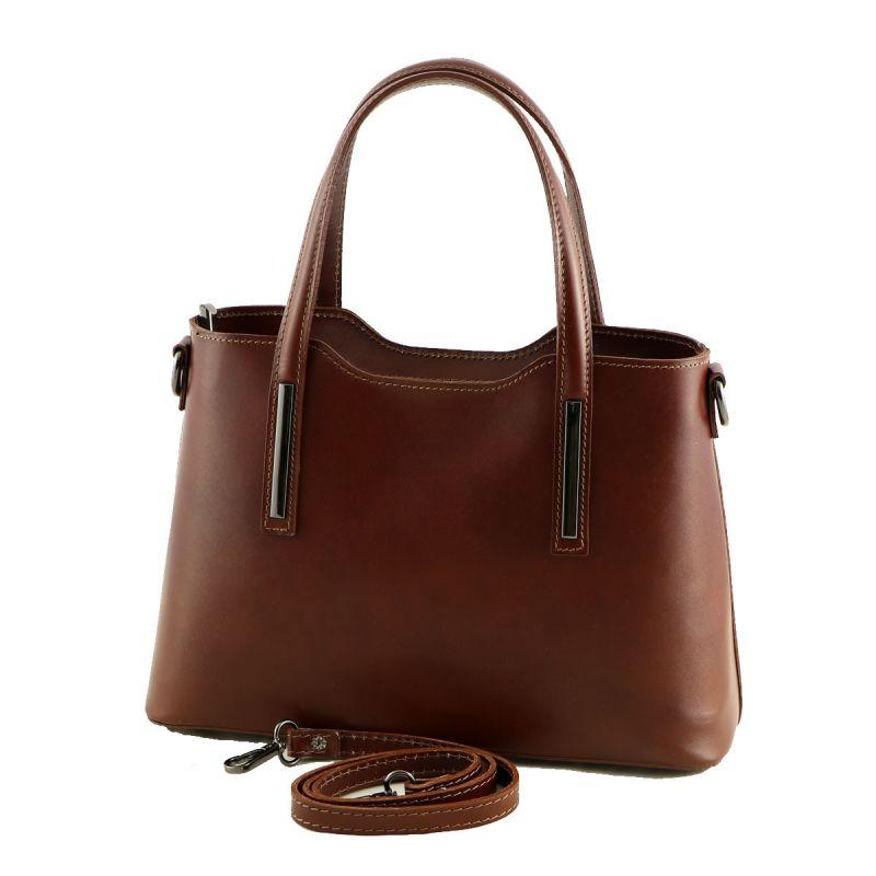 Italská kabelka kožená