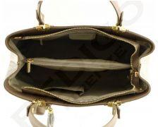 Elegantní italská kožená kabelka 1064 hnědá Pedigo Firenze